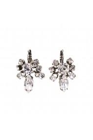 Cercei placati cu Argint 925 cu cristale Swarovski On a Clear Day 1150/1-001001SP6