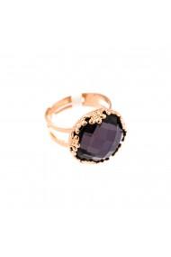 Inel placat cu Aur roz de 24K cu cristale Swarovski Desire 7220-204ARG