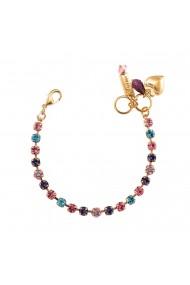 Bratara placata cu Aur roz de 24K cu cristale Swarovski Cotton Candy - The Sweet Life 4008-144RG