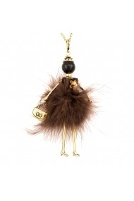 Bambola in Stile Moscovita-Lux-Brown