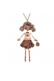 Bambola Olandese-Flowers-Copper