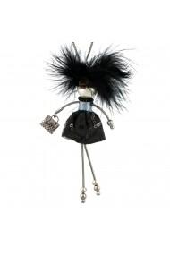 Bambola in Stile Parigino-Rock-Black