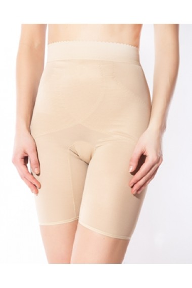 Pantalon modelator Rosme cu talie inalta 564735-bej