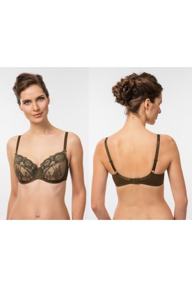 Sutien Rosme fashion ideal pentru sani voluminosi 641216-masliniu