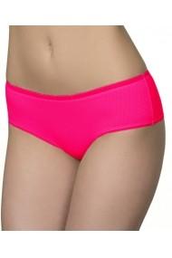 Slip Milavitsa tip boxeri din bumbac elastic tip jaquard 26167-roz