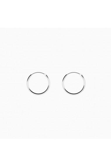 Cercei din argint 925 Manissi Simple Hoop S