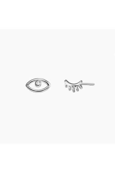 Cercei din argint Manissi Eye and Eyelash