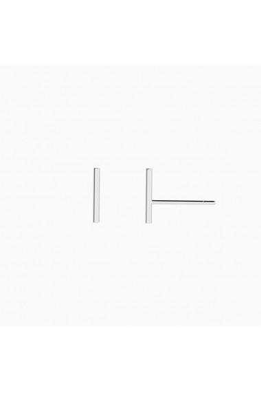 Cercei din argint Manissi Thin Bar