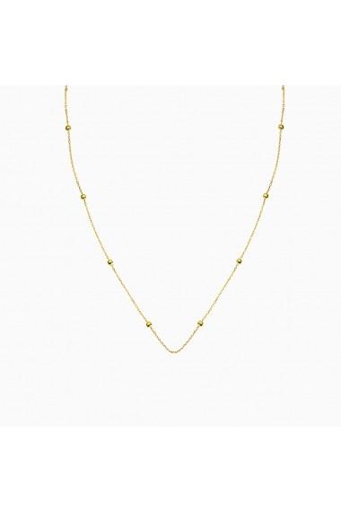 Lant din argint Manissi Simplicity Gold