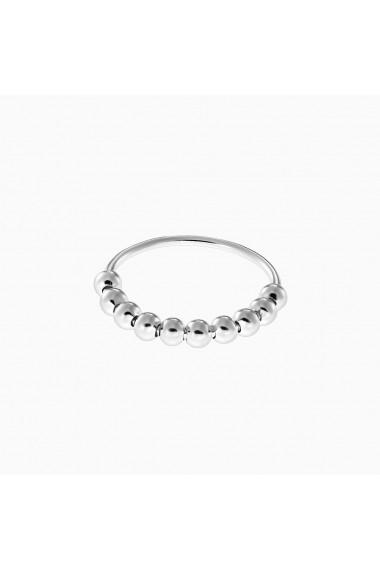 Inel din argint Manissi Ten Beads