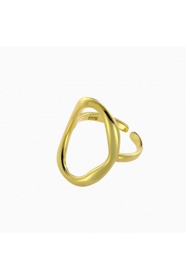 Inel din argint Manissi O Ring Gold