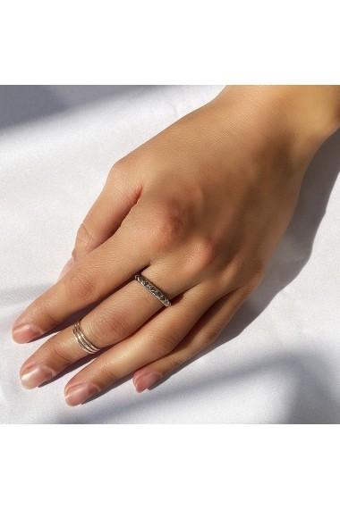 Inel din argint Manissi Triple Line