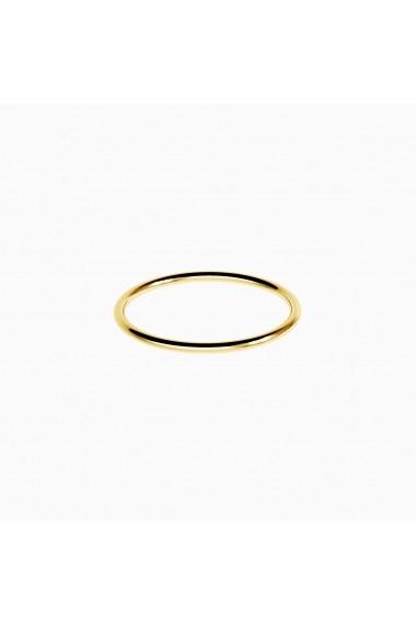 Inel din argint Manissi Thin Classic Gold