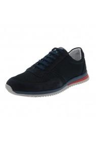 Pantofi sport Pas cu insertii de piele nabuc pantofi de vara