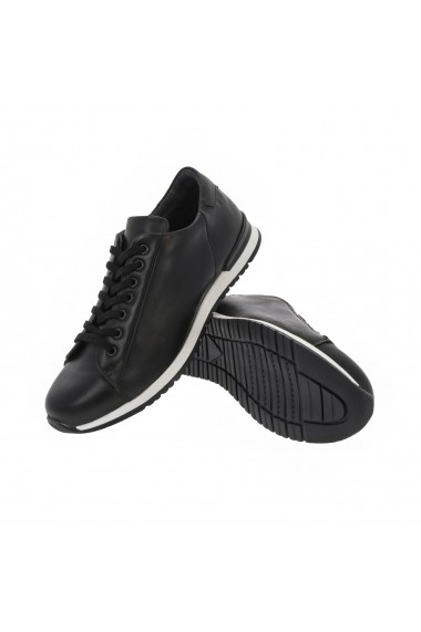 Pantofi sporti Modin din piele 10073845 Negri