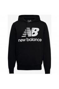 Hanorac barbati New Balance Essentials Stacked Logo Po MT03588BK