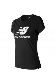 Tricou femei New Balance Essentials Stacked Logo WT91546-BK