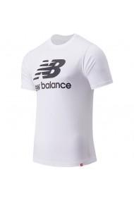 Tricou barbati New Balance Essentials Stacked Logo MT01575-WT