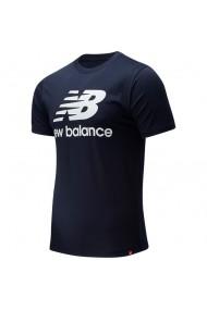 Tricou barbati New Balance Essentials Stacked Logo MT01575-ECL