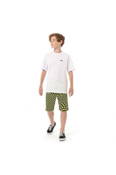 Tricou copii Vans Left Chest Tee Bo VN0A4MQ3WHT