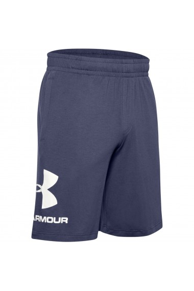 Pantaloni scurti barbati Under Armour Sportstyle Cotton Logo 1329300-497