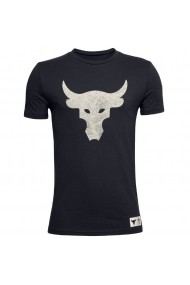 Tricou copii Under Armour Project Rock Brahma Bull Ss 1357552-001