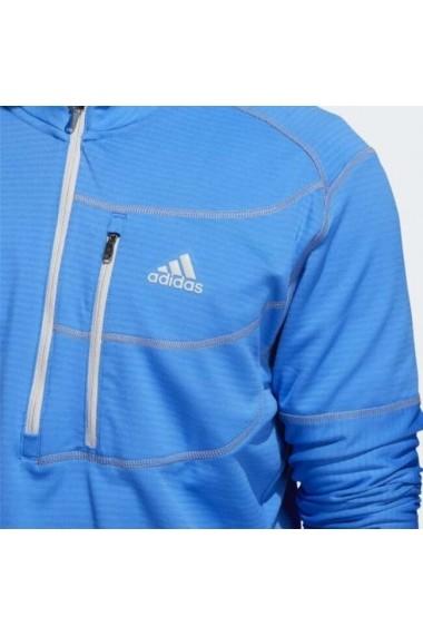 Bluza barbati adidas Performance Climawarm Gridded 1/4 Zip Golf DQ1785