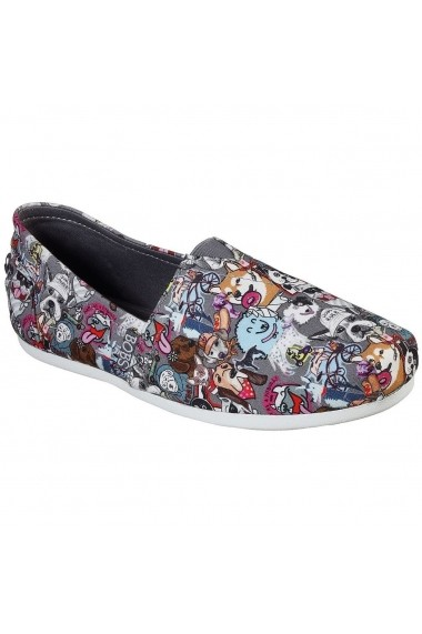 Balerini femei Skechers BOBS PLUSH-DOGGONE IT 57168/GYMT