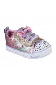Pantofi sport copii Skechers Shuffle Lite 314022N/LPMT