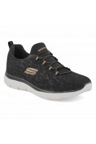 Pantofi sport femei Skechers Summits-Leopard Spot 149037/BKRG