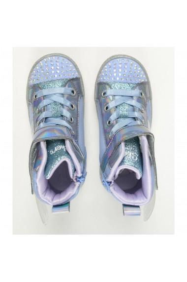 Pantofi copii Skechers Lil Sparkle Wings 20217N/PERI