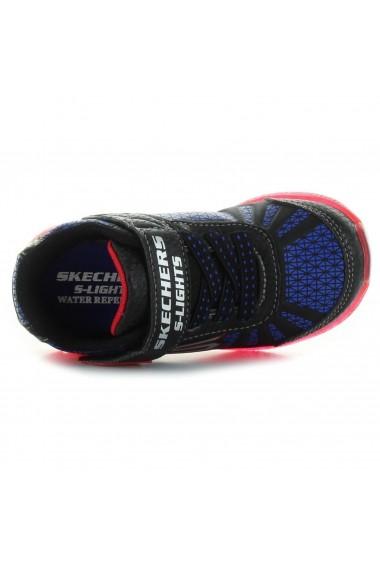 Pantofi sport copii Skechers Illumi-Brights 401520N/BKRB
