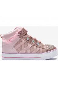 Pantofi sport copii Skechers Twinkle Toes Shuffle Lites Infant Girls 314900N/PNK