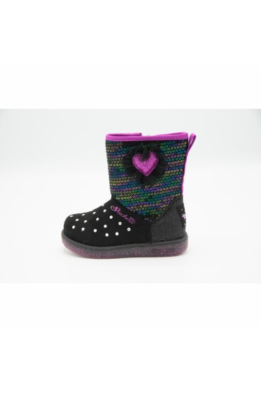 Cizme copii Skechers Twinkle Toes Glitzy Glam 20305N/BKMT