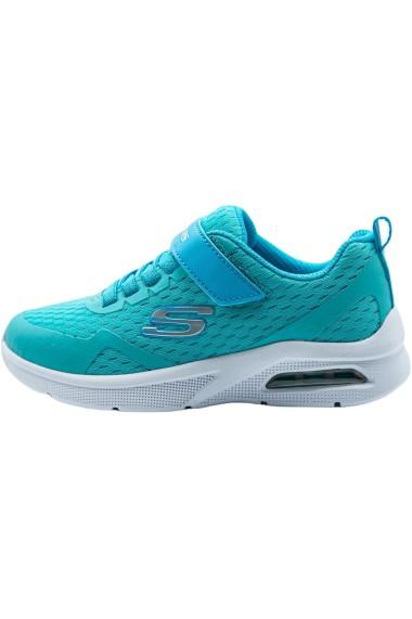 Pantofi sport copii Skechers Microspec Max 302377L/AQUA