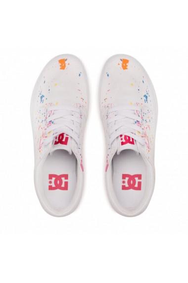Tenisi femei cu platforma DC Shoes Trase ADJS300269-WTS