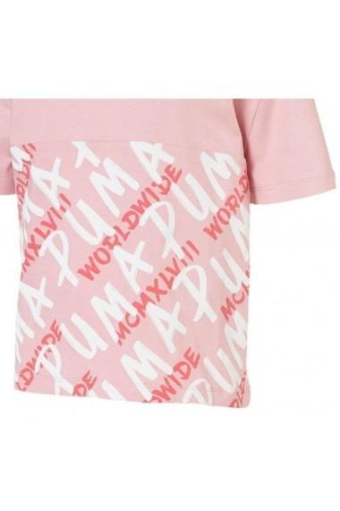 Tricou copii Puma Alpha Graphic Girls` Tee 58039414
