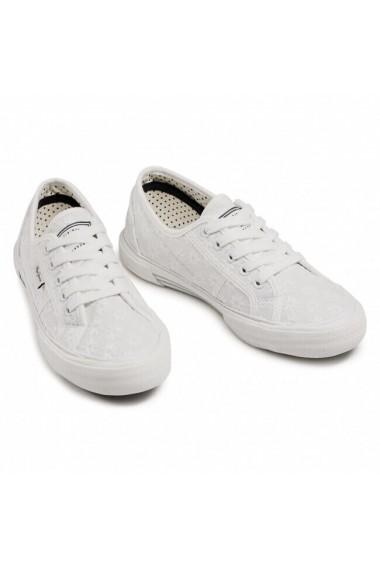 Tenisi femei Pepe Jeans Aberlady Lace PLS31153-800