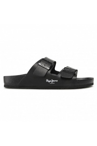Slapi barbati Pepe Jeans Bio Light Buckles PMS90086-999