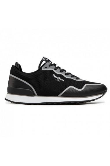 Pantofi sport barbati Pepe Jeans Cross 4 Knit PMS30706-999