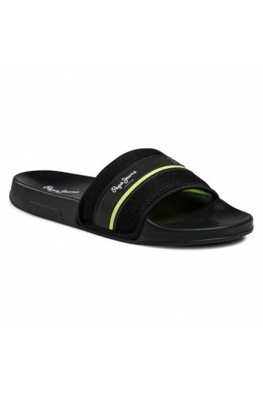 Slapi barbati Pepe Jeans Slider Mesh PMS70094-999
