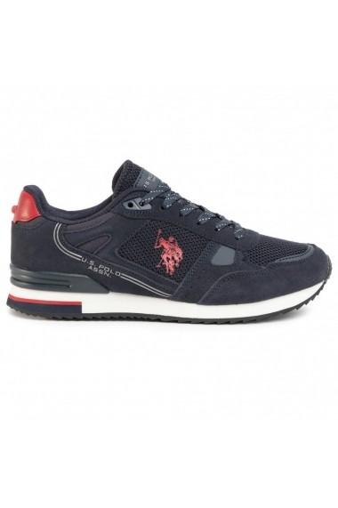 Pantofi sport barbati U.S. POLO ASSN. Wilde3 Suede FERRY4083W8/SM1-DKBL-RED