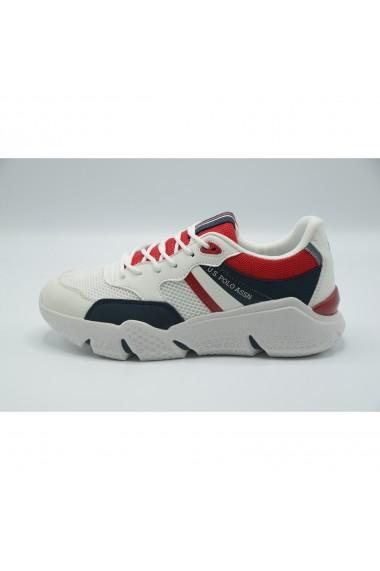 Pantofi sport barbati U.S. POLO ASSN. Ermes-Whi-Dkbl BOND4113S0/YM1-WHI-DKBL