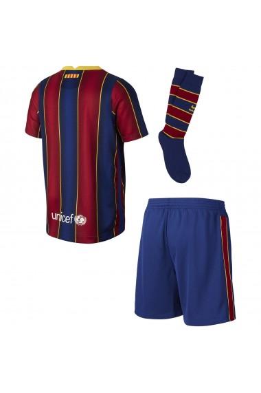 Echipament Fotbal copii Nike FC Barcelona Home Kit 2020/21 CD4590-456