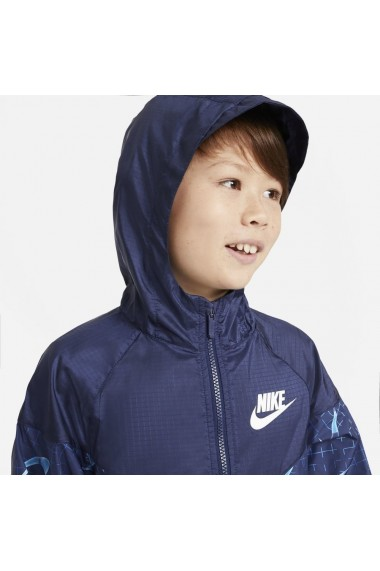 Jacheta copii Nike Sportswear Windrunner Older Kids` DA0758-492