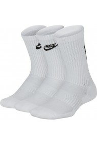 Sosete unisex Nike Everyday Older Kids` Cushioned Crew Socks (3 Pairs) SK0065-100