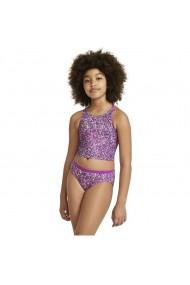 Costum de baie copii Nike Big Kids` (Girls`) Spiderback Bikini Set NESSA746-560