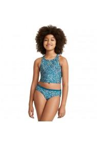 Costum de baie copii Nike Big Kids` (Girls`) Spiderback Bikini Set NESSA746-304