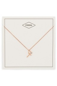 Colier Fossil Motifs Letter T JF03045791