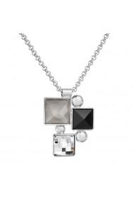 Colier cu cristale Swarovski FaBOS  Colourmix (black) 7430-6002-03
